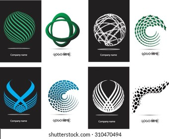 Abstract logo design.Logo vector template.Business icon.