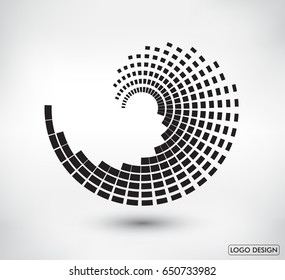 Abstract logo design.Vector logo template.