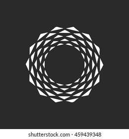 Abstract Logo Icon Element. Template Design Logo.