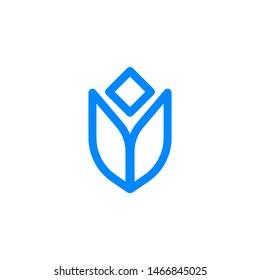 Abstract logo. Minimalistic logo design. Creative logo. Beautiful and simple element.