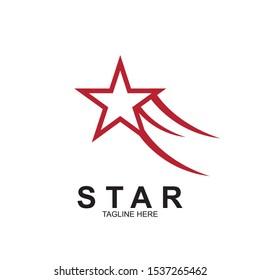 Abstract logo star design. Icon star vector template