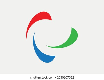 Abstract logo. Vector graphics and design.