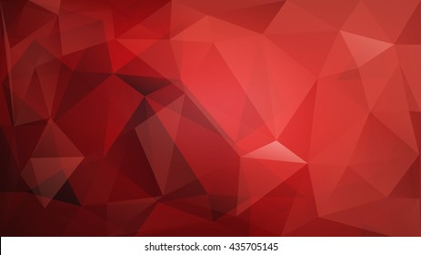 Abstract low poly colored background of triangles