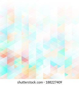 Abstract lowpoly background. EPS 10 vector illustration. Used meshes and transparency layers of particles