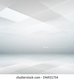 Abstract Lowpoly Background. Vector illustration. Used opacity mask and transparency layers of background and mesh objects