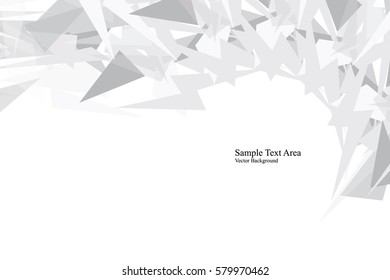 Abstract Lowpoly vector background. Template for style design. Vector illustration