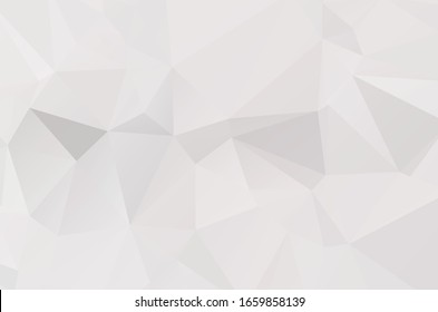 Abstract Lowpoly vector Gray background. Template for style design