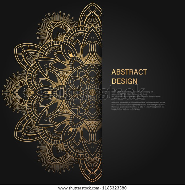 Abstract Luxury Background Ornament Elegant Invitation | Royalty ...