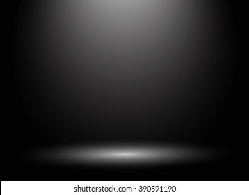 Abstract luxury dark grey and black gradient with border black vignette background Studio backdrop - well use as black backdrop background, black board, black studio background. Vector Illustration.