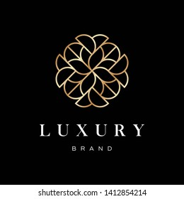 Abstract Luxury Logo Design Template