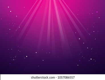 Abstract magic light background. gold holiday burst