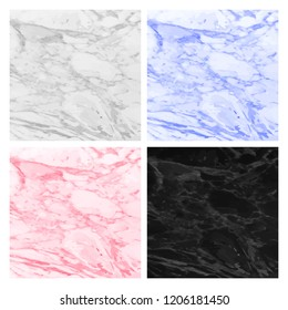 Abstract marbled backgrounds liquid paint colors. Marble textures for invitation or greeting card, brochure, banner and flyer and poster. Grey, pink, black, red, blue color