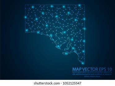 3d Map Of South Australia.South Australia Map Images Stock Photos Vectors Shutterstock