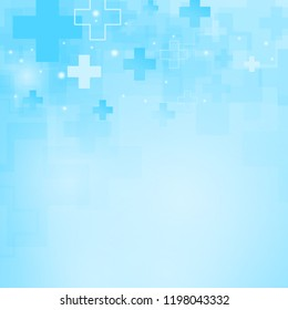 Abstract medical background. Space for text. Vector background