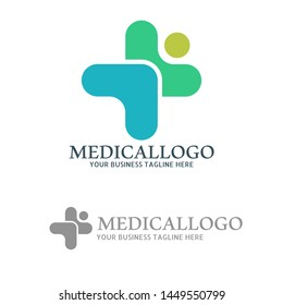 Abstract Medical Care Logo Concept for hospital and Clinic