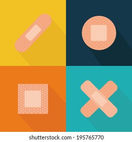 abstract medical tools on a special background