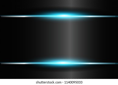 neon blue glowing frame isolated on stock vector royalty free