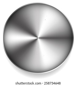 Abstract Metallic Circle
