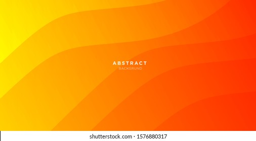 abstract minimal background with orange color