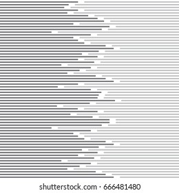 abstract minimal design stripe and Lines Pattern. vector black and white Texture.