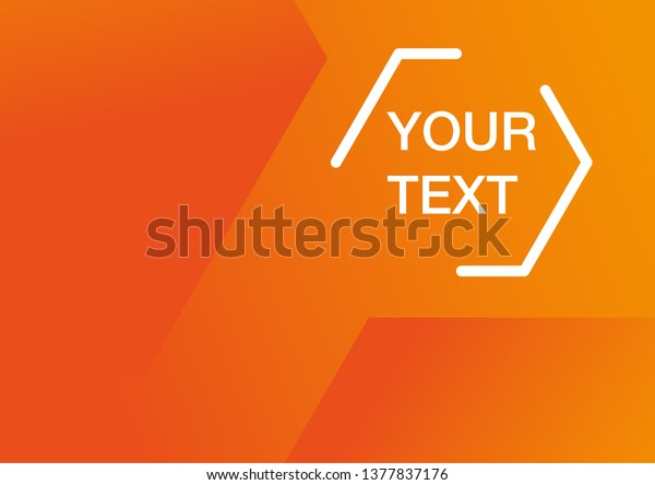 abstract minimal geometric orange vector 600w 1377837176
