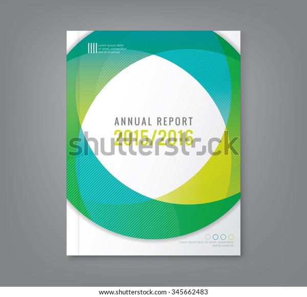 ビジネス年次報告書集のパンフレットポスター用の抽象的な最小の円形図形のデザイン背景