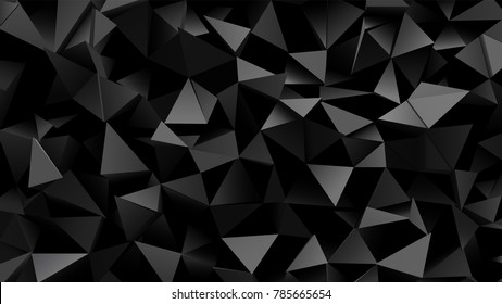 Abstract, modern 3d background with geometric texture 1920 x 1080 px. for interior, design, advertising, screen saver.