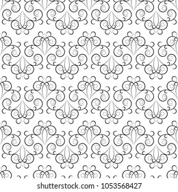 Abstract modern background. Fashion graphic design. Stylish abstract texture. Monochrome template for prints, textiles, wrapping, wallpaper, card, banner, business, etc. Vector illustration