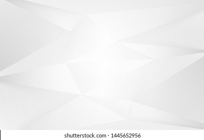 Abstract .Modern background. White polygon background. vector.