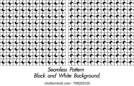 abstract modern black and white vector.seamless pattern.