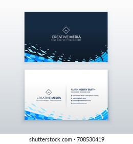Business card design images stock photos vectors shutterstock abstract modern blue business card design reheart Choice Image