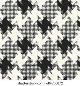Abstract modern checked background. Seamless pattern.