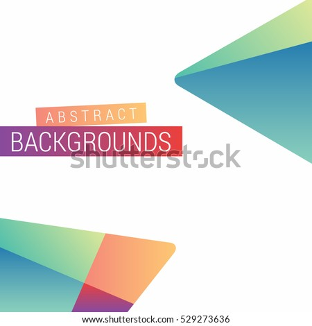 abstract modern design play google style stock vector royalty free