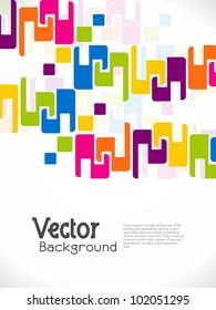 abstract modern designed background. Vector illustration