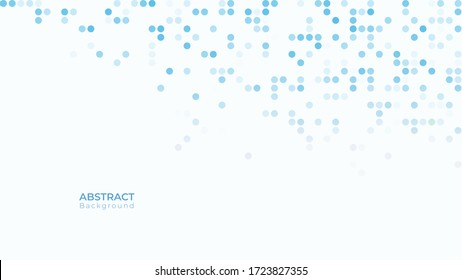 Abstract modern dynamic geometric background. Halftone dotted texture. vector illustration
