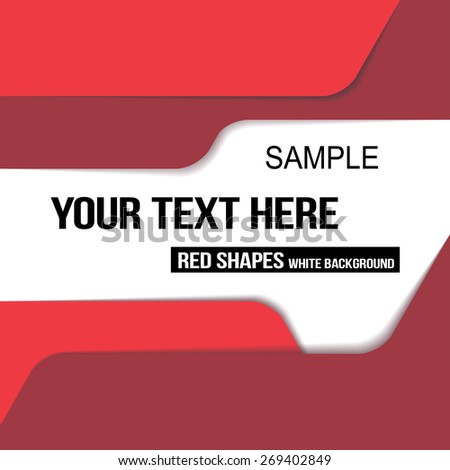 abstract modern flat template text sample stock vector royalty free
