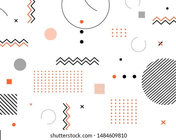Abstract modern geometric background. Eps 10