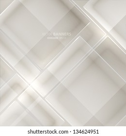 Abstract modern glass background. Vector eps10 illustration.