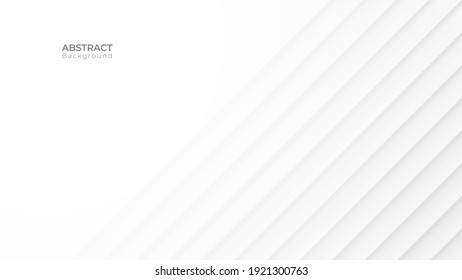 Abstract modern line background. White and grey geometric texture. vector art illustration  - Shutterstock ID 1921300763