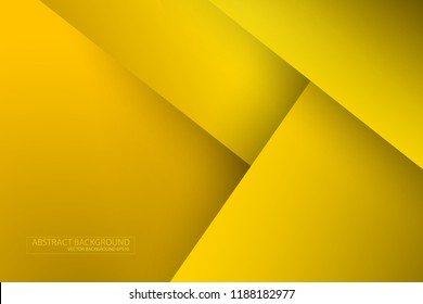 Abstract modern plygonal background in gold , yellow tone. traingle design wallpaper.EPS10 Vector.