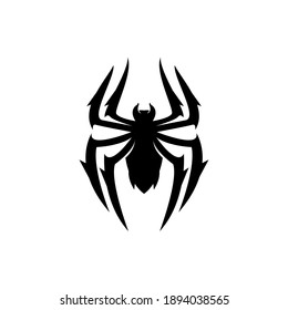 Abstract modern simple spider logo