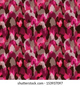 Abstract modern stylish pink animal seamless web or fabric pattern