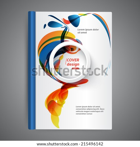 abstract modern template book cover stock vector royalty free