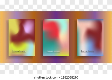 Abstract modern trendy background cover posters, banners, flyers or placards. Vector illustration.