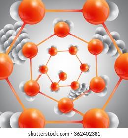 abstract molecular compound