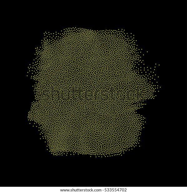 Abstract monochromatic grunge dotted background, design element.