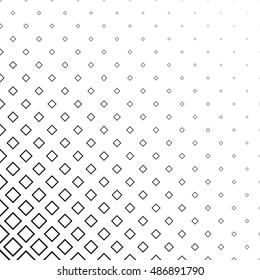 Abstract monochrome line square corner pattern background design