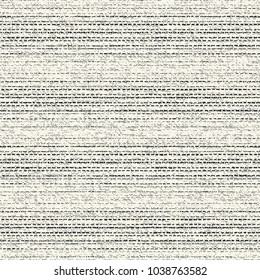 Abstract Monochrome Striped Dashed Stroke Washed-Out Effect Textured Background. Seamless Pattern.