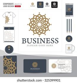 Abstract monogram elegant logo design,Abstract Logotype corporate identity template,Corporate identity,hotel,restaurant,vector illustrator