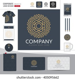 Abstract monogram elegant logo design,Abstract Logotype corporate identity template,Corporate identity,Abstract emblem,boutique hotel,restaurant,vector illustrator